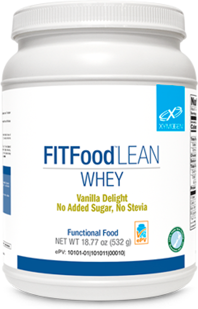 Picture of FIT Food™ Lean Whey Vanilla Delight No Added Sugar, No Stevia 14 Servings