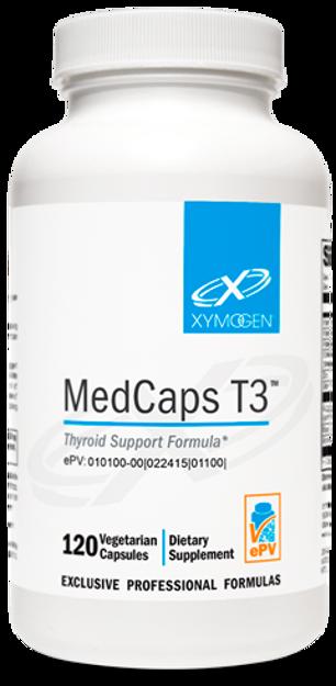 Picture of MedCaps T3™ 120 Capsules