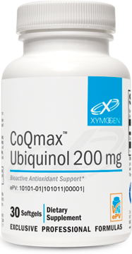 Picture of CoQmax™ Ubiquinol 200 mg 30 Softgels