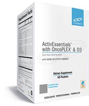 Picture of ActivEssentials™ with OncoPLEX™ & D3 60 Packets