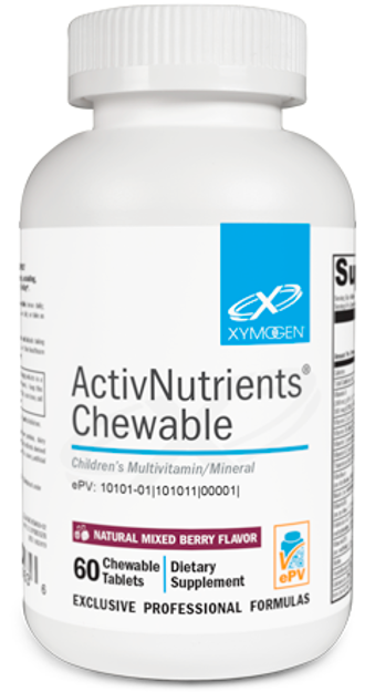 Picture of ActivNutrients® Chewable Mixed Berry 60 Tablets